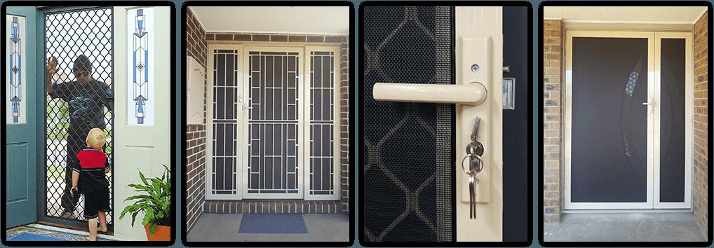 Security Screen Doors Fly Screen Doors Amp Windows Hoppers