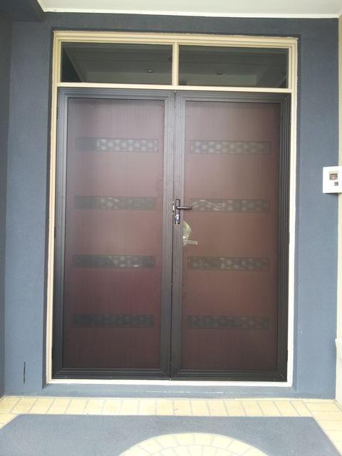 Clear Security Doors Gallery
