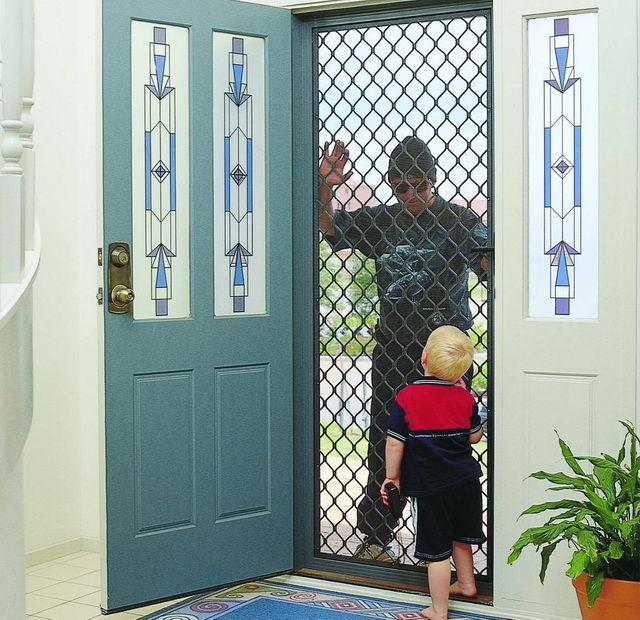 Diamond Amp Decorative Security Doors