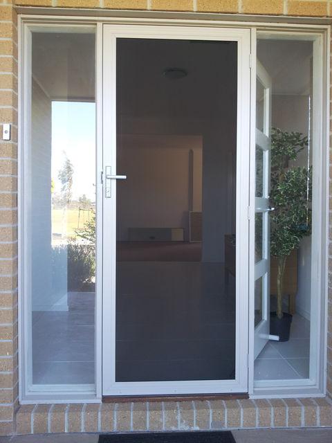 Stainless Steel mesh clear door. StainlessSteelmeshcl2.jpg & Clear Security Doors Gallery pezcame.com